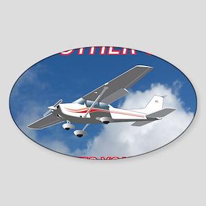 My Other Car- Cessna Sticker (Oval)