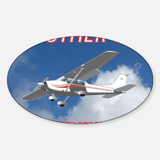 My Other Car- Cessna Sticker (Oval)