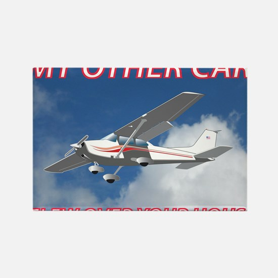 My Other Car- Cessna Rectangle Magnet
