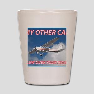 My Other Car- Cessna Shot Glass