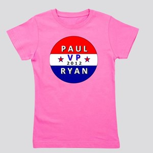 Paul Ryan VP 2012 Girl's Tee