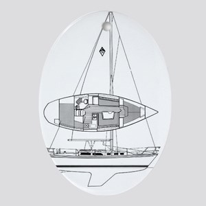 Catalina 34 Oval Ornament