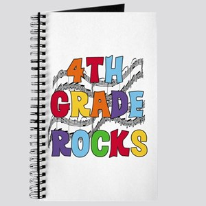 Bright Colors 4th Grade Journal