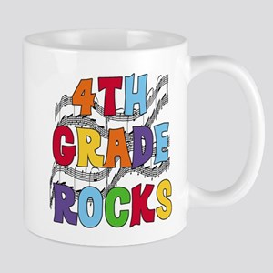 Bright Colors 4th Grade Mug