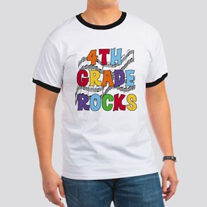 Bright Colors 4th Grade Ringer T