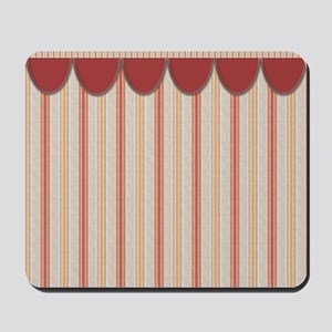 Red Stripes Mousepad