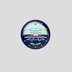 ArtHorizLuggageTagSmall Mini Button