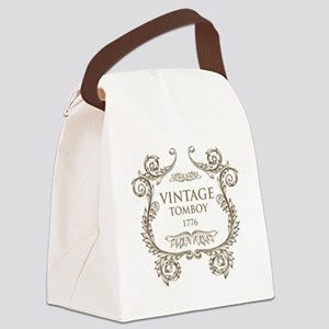 Vintage Tomboy 1776 Canvas Lunch Bag