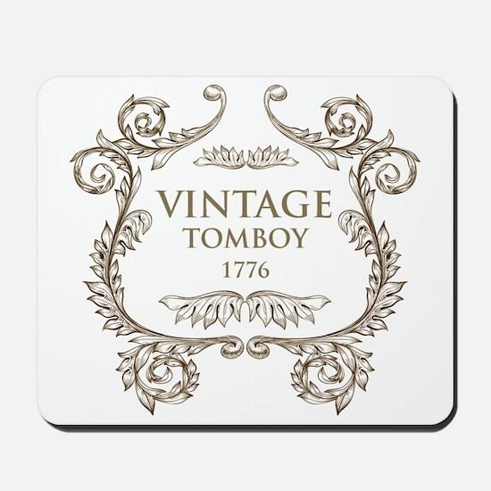 Vintage Tomboy 1776 Mousepad