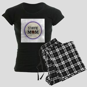 Staffie Dog Mom Pajamas