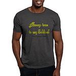 Army Wife Always True to Soldier Dark T-Shirt