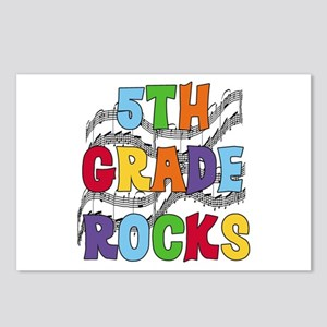 Bright Colors 5th Grade Postcards (Package of 8)