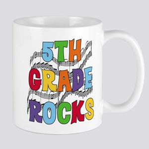 Bright Colors 5th Grade Mug