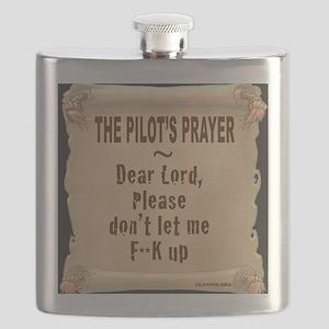PilotsPrayerFuoLuggHandleWrap Flask