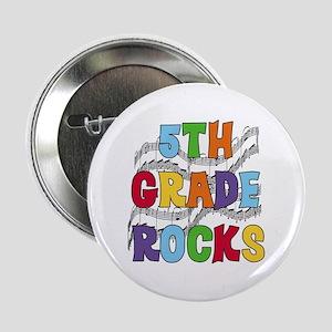 Bright Colors 5th Grade Button