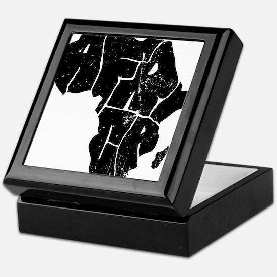Africa Undivided Keepsake Box