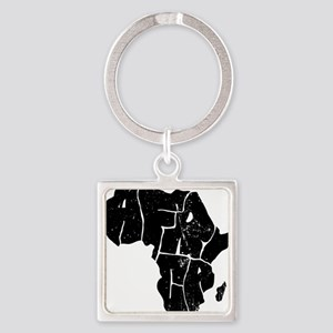 Africa Undivided Square Keychain