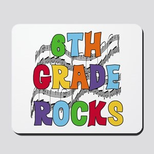 Bright Colors 6th Grade Mousepad
