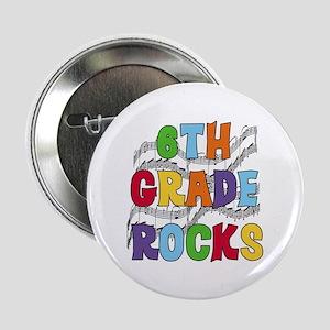 Bright Colors 6th Grade Button