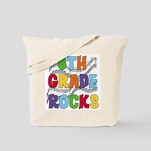 Bright Colors 6th Grade Tote Bag