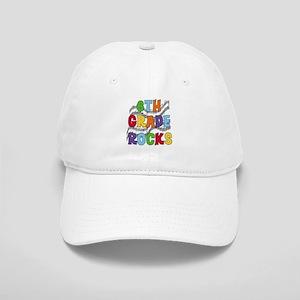 Bright Colors 6th Grade Cap