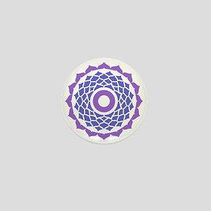 Sahasrara Chakra Mini Button