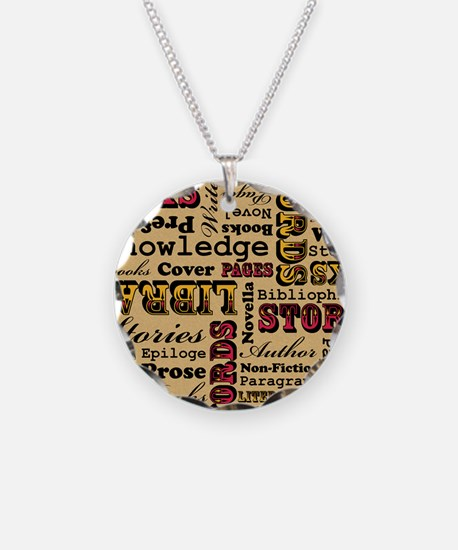 Books Books Books Necklace