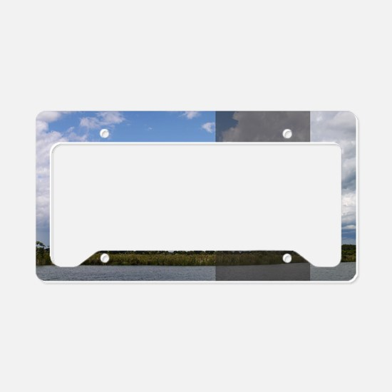 LDS Quotes- Love one another  License Plate Holder