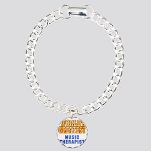 World's Greatest Music T Charm Bracelet, One Charm