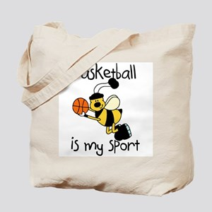 Bumblebee Basketball Tote Bag