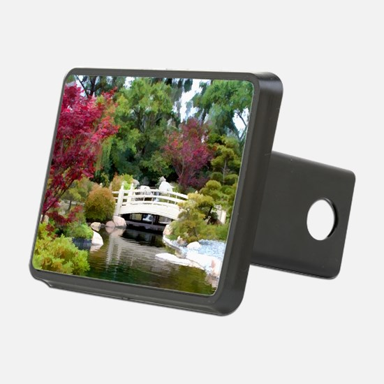 Japanese GArden and Bridge Hitch Cover