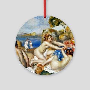 Pierre-Auguste Renoir Round Ornament