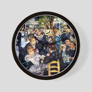 Renoir Le Moulin de la Galette Wall Clock