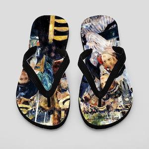 Renoir Le Moulin de la Galette Flip Flops