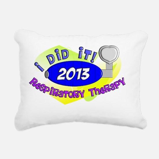 RT I did it 2013 Rectangular Canvas Pillow