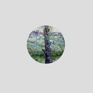Van Gogh Flowering Orchards Mini Button