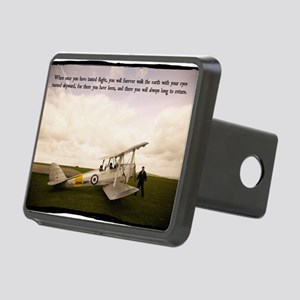 Tiger Moth Getting ready t Rectangular Hitch Cover