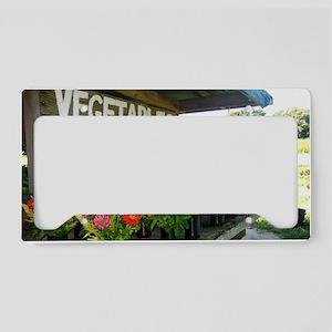 flowers License Plate Holder