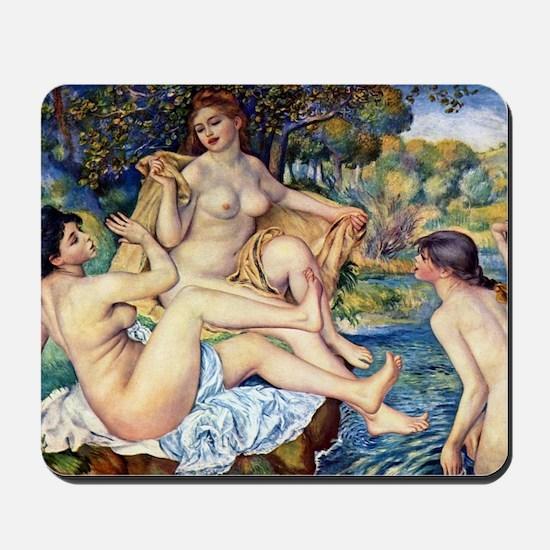 Pierre-Auguste Renoir The Large Bathers Mousepad