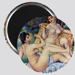 Renoir The Large Bathers Magnet