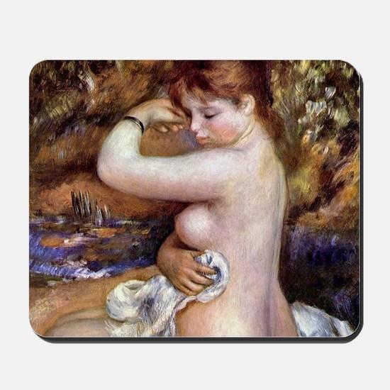 Pierre-Auguste Renoir After The Bath Mousepad