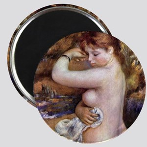 Pierre-Auguste Renoir After The Bath Magnet