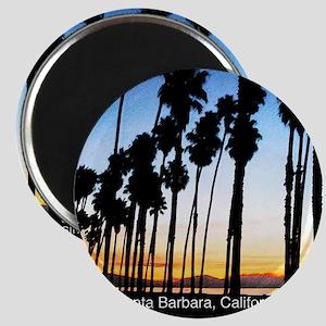 Sunset in Santa Barbara Magnet