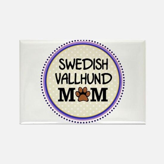 Swedish Vallhund Dog Mom Magnets