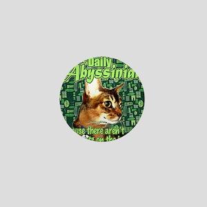 Internet Needs More Cats Mini Button