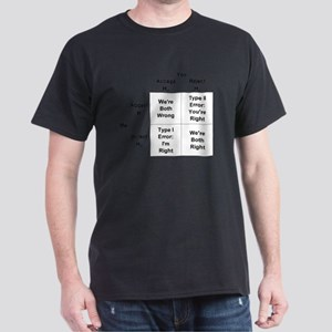 Type I and II Errors Dark T-Shirt