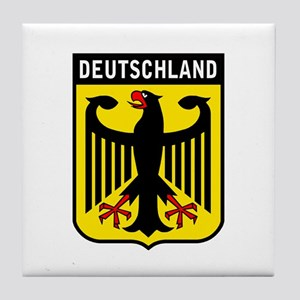 Deutschland Eagle Tile Coaster