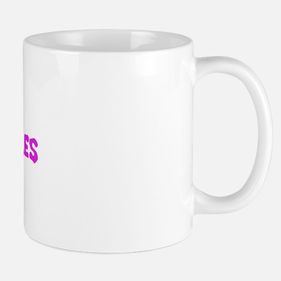 purple nurples Mug