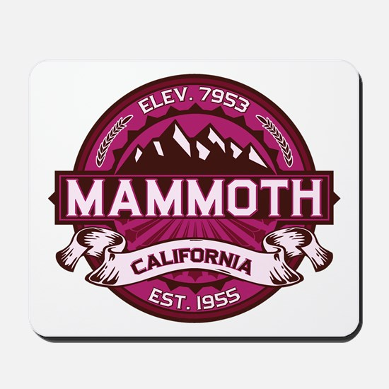 Mammoth Raspberry Mousepad