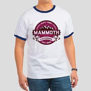 Mammoth Raspberry Ringer T